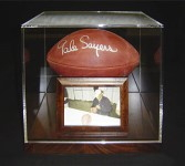 Superbowl Encased in an Acrylic Box